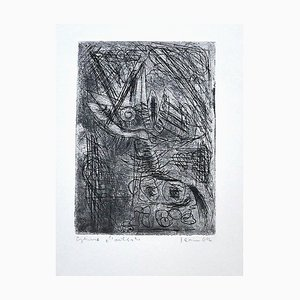 Composition - Original Etching on Paper - 1942 1942