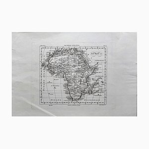 Ancient Map of Africa - Original Etching - 19th century 19th Century