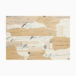 Composition - Travail Original sur Papier par Bruno Conte - 1962 1962
