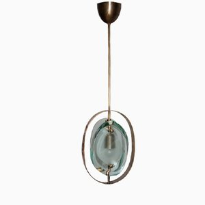 Model 1933 Pendant Light by Max Ingrand for Fontana Arte