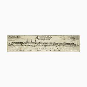 Bonn, Karte von '' Civitates Orbis Terrarum '' - von F. Hogenberg - 1575 1575