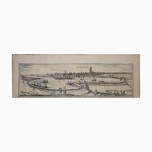 Dunkirk, Map from ''Civitates Orbis Terrarum'' - by F. Hogenberg - 1572/1617 1572/1617