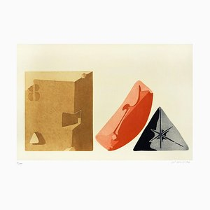 Constructions - Original Etching by Giò Pomodoro - 1970s 1970s