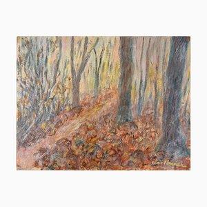 In the Woods - Original Ölgemälde von Lucie Navier - 1931 1931