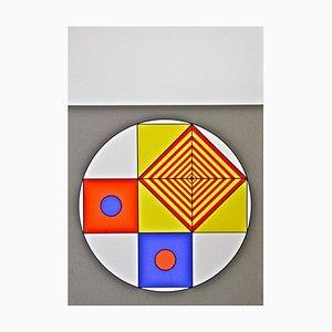 Affiche Composition VII - Sérigraphie par Franco Cannilla - 1971 1971