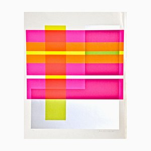 Composition - Original Screen Print by Franco Cannilla - 1971 1971