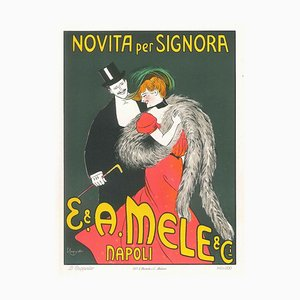 Novità per Signora - Original Advertising Lithograph by L. Cappiello - 1903 ca. 1903 ca.