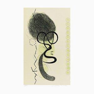 Abstract Movement - Original Radierung von E. Della Torre - 1970er 1970er Jahre