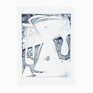 Time and Heat- 20. Jahrhundert - Sante Monachesi - Lithografie - Contemporary