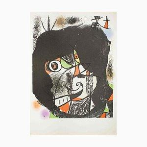 Les Revolutions Sceniques du XX Siecles - Original Lithograph by Joan Mirò 1975