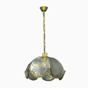 Mid-Century Murano Glass Ceiling Lamp