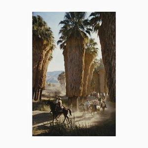 Modell Palm Spring Riders Oversize C in Weiß von Slim Aarons
