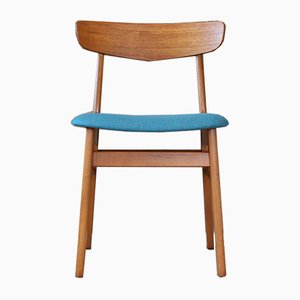 Mid-Century Teak Side Chair from Farstrup Møbler