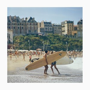 Peter Viertel Oversize C Print Framed in White by Slim Aarons