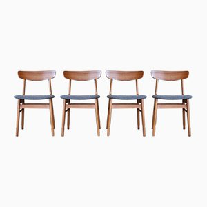 Mid-Century Dining Chairs from Farstrup Møbler, Set of 4