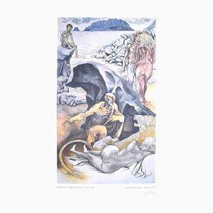 Saint Hieronymus oder die Drei Zeitalter - Von - Vintage Offsetposter Handsigniert - 1981 1981