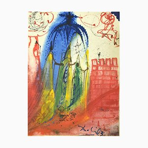 Romeo and Juliet Act 1, Scene 4 - Original Lithograph by Salvador Dalì - 1975 1975