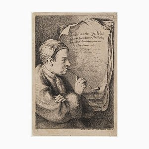 Toute Sorte le Têtes - Etching by Ferdinand Landerer - Late 18th century Late 18th Century