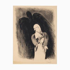 La Chanson de l'Agneau que le Chat eu Mangé - by J.Hertz - XX century Unknown