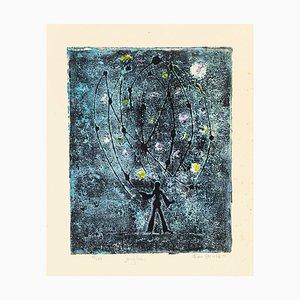 Juggler - Original Radierung auf Papier von Alain Ducros - 1954 1954
