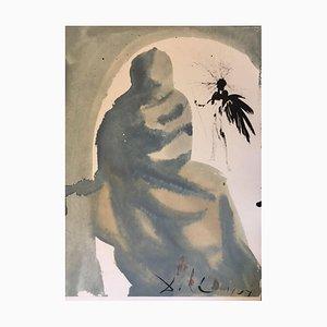 Seduxisti me, domine - Original Lithograph by S. Dalì - 1964 1964
