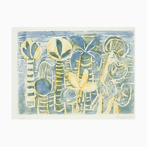 Plants - Original Etching by Eduard Bargheer - 1977 1977