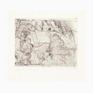 Homage to Paul Klee - Original Radierung von Sergio Barletta - 1960 1960