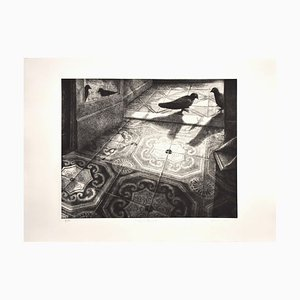 The Appointment - Original Etching by P. Cesaroni - 1994 1994