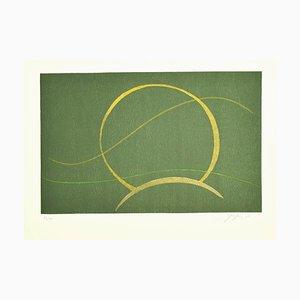 Composition - Original Screen Print by A. Fanfani - 1972 1972