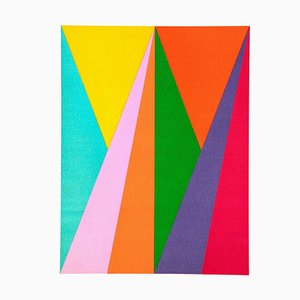 Geometry - Original Lithograph by Max Bill - 1975 1975