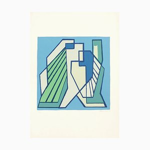 Composition RS2.D - Original Screen Print from Mario Radice - 1978 1978