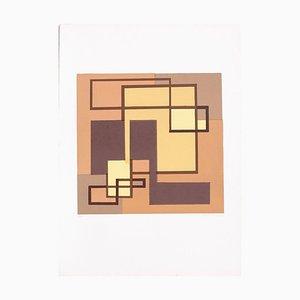 Composition LAM - Original Siebdruck von Mario Radice - 1978 1978