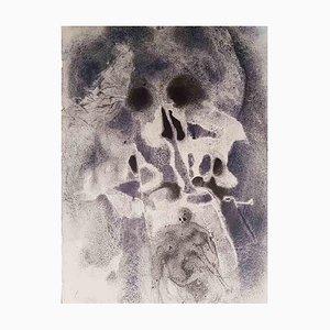 Iosas Sepultus in Mausoleo Patrum - Original Lithograph by Salvador Dalì - 1964 1964