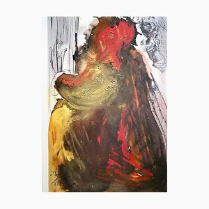 Planctus David in mortem Saul - Original Lithograph by Salvador Dalì - 1964 1964