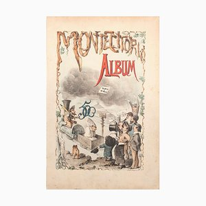 Album di Montecitorio - Lithograph by A. Maganaro - 1872 1872