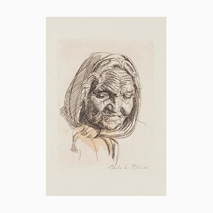 Untitled - Original Etching by C.A. Petrucci - 1960s 1960s