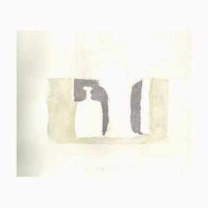 Composition - Vintage Offset Druck nach Giorgio Morandi - 1973 1973