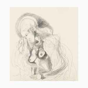 Motherhood - Original Bleistiftzeichnung - 1976 1976