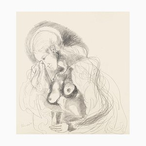 Motherhood - Original Pencil Drawing - 1976 1976