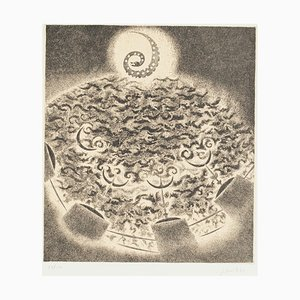 Spiral - Original Etching by Edo Janich - 1970s 1970s