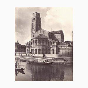 Sammlung von 4 Vintage Fotos von Murano von Studio Bohm - 1930er Jahre