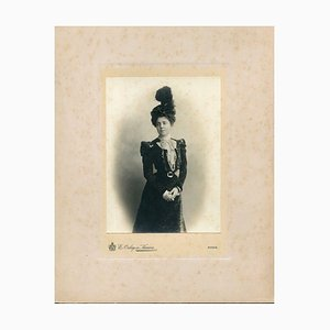 Collection of two vintage photos by Studio Orlay de Karwa - Photo 1900 ca. 1900 ca.
