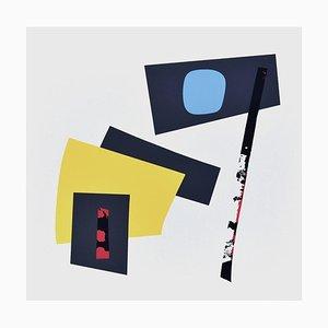 Composition - Original Lithographie von Nordeuropäischer Meister - 1959 1959