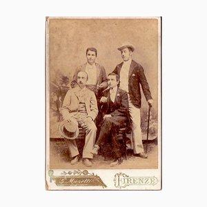 Fotoporträt von Gentlemen - Florence 1896 1896