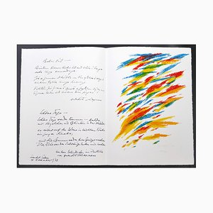 Composition - Original Lithograph by Piero Dorazio - 1972 1976