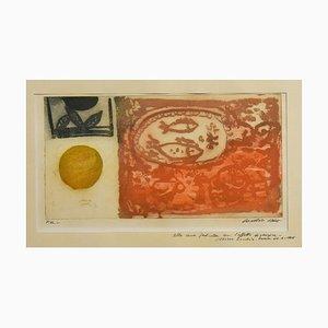 Fishes - Original Radierung von Nino Cordio - 1965 1965