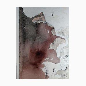 Et Baptizatus est a Ioanne in Iordane - Original Lithograph by S. Dalì - 1964 1964