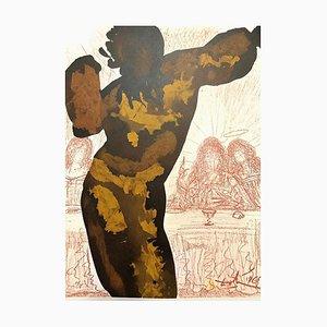 Et Post Buccellam Introivit in Eum - Original Lithographie von Salvador Dalì - 1965 1965