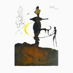 Filiae Herodiadis Saltatio - Original Lithograph by S. Dalì - 1965 1965