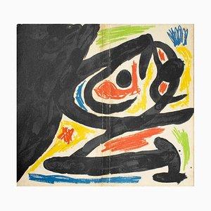 Maitres-Graveurs Contemporains - Original Lithograph by J. Mirò - 1970 1970